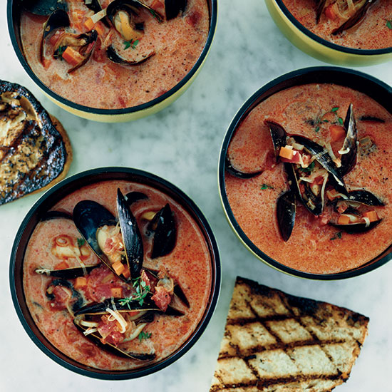 Mussel and Chorizo Soup