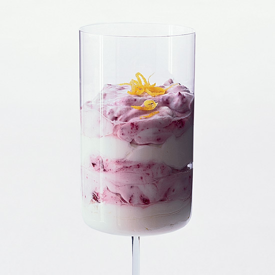 Lemon-Cherry Yogurt Parfait