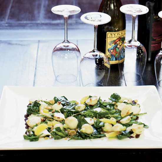 Roasted Turnips and Greens
