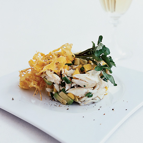 Crab Salad with Avocado and Mango