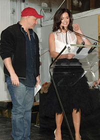 BNC party hosts Tom Colicchio, BNC 1991, (Gramercy Tavern, Craft, 'wichcraft, Craftsteak, Craftbar) and Katie Lee Joel.