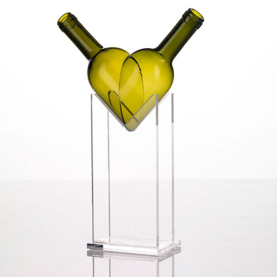 """Heart"" vase by Antonio Cos"