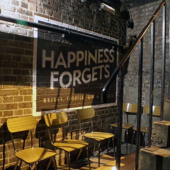 London Bars: Happiness Forgets