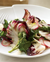 Warm Fennel–and–Bitter Greens Salad