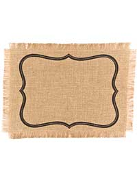 Frame Place Mats by Simrin