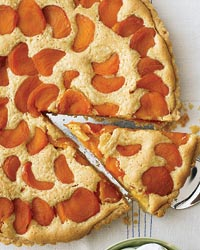 Apricot, Almond and Brown Butter Tart