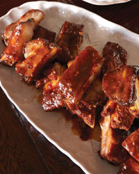 Pincho Ribs with Sherry Glaze