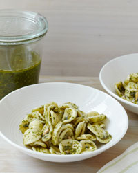 Pasta with Mixed-Herb Pesto