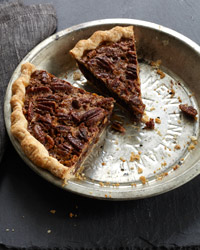 Chocolate Pecan Pie with Bourbon