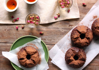 Spiced Chocolate Date Cakes