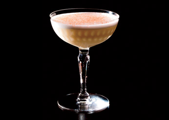 Bourbon-and-Cornhusk Cocktail: The Office, Chicago