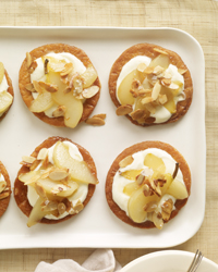 Puff Pastry Pear Tartlets