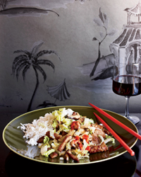 Shanghai Stir-Fried Pork with Cabbage