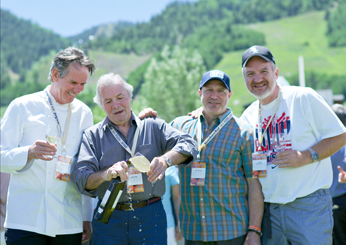 Thomas Keller, Jacques Pépin, Tom Colicchio and Art Smith