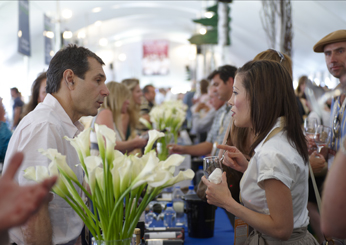 The Grand Tasting Pavilion at the FOOD & WINE Classic in Aspen