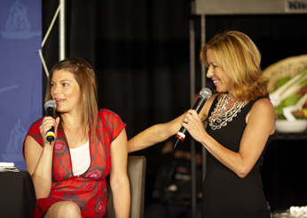 FOOD & WINE's Gail Simmons and host Sissy Biggers