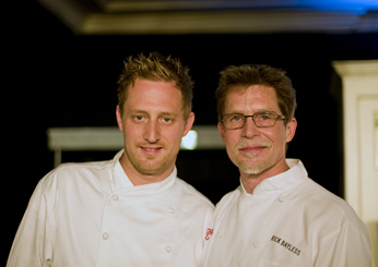 Challengers Michael Voltaggio and Rick Bayless