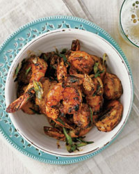 Bobby Flay's Peel-and-Eat Shrimp with Barbecue Spices