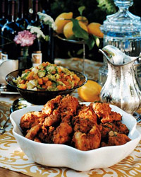 Lemon-Brined Fried Chicken