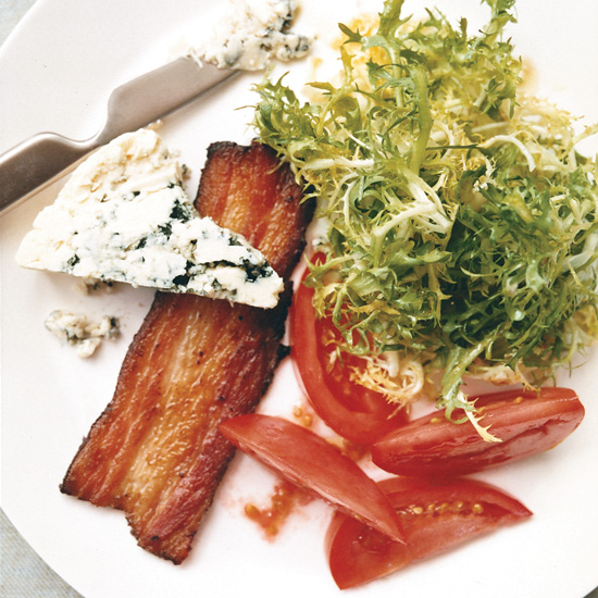 BLT Salad with Blue Cheese
