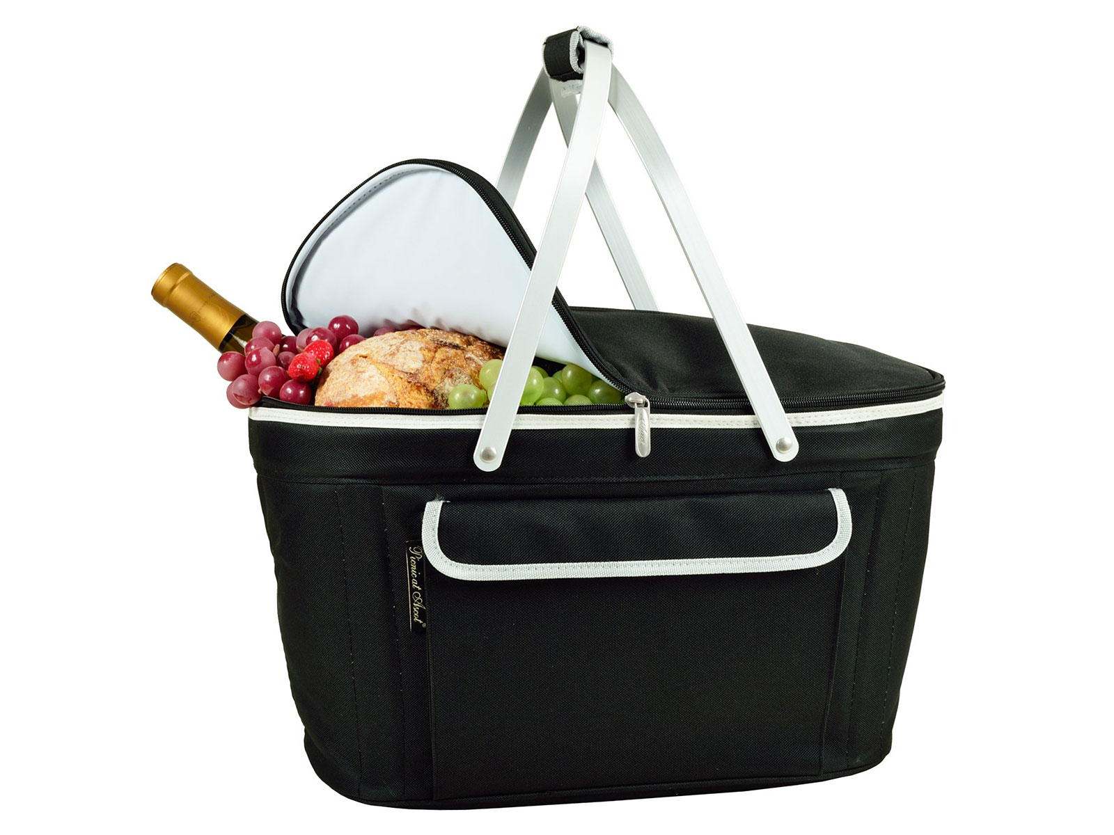 Picnic at Ascot Insulated Folding Picnic Basket