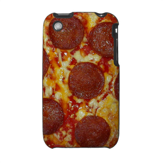 Pepperoni Pizza iPhone Case