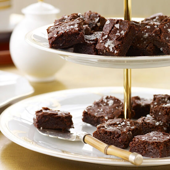 Salted Fudge Brownies