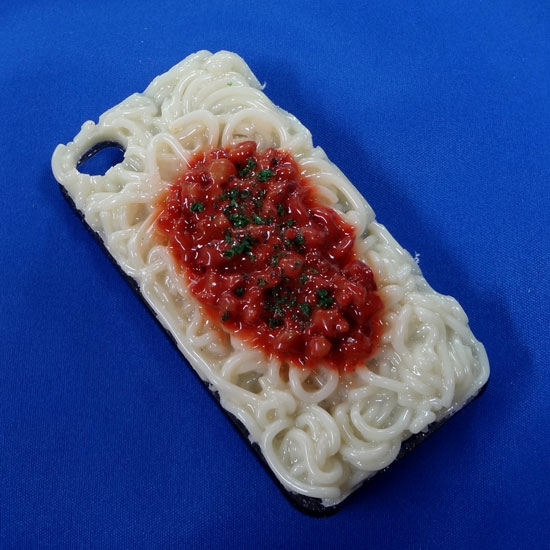 Spaghetti with Meat Sauce iPhone Case