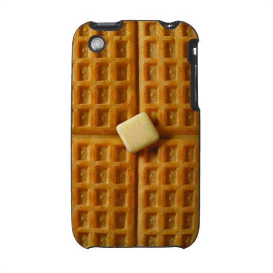 Waffle with Butter iPhone Case