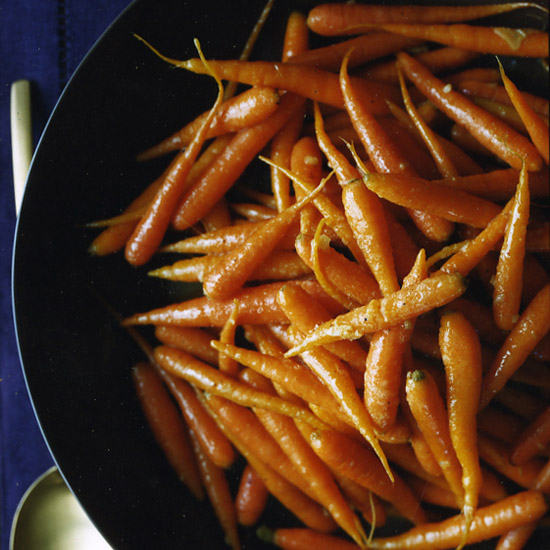 Glazed Carrots with Cardamom and Ginger