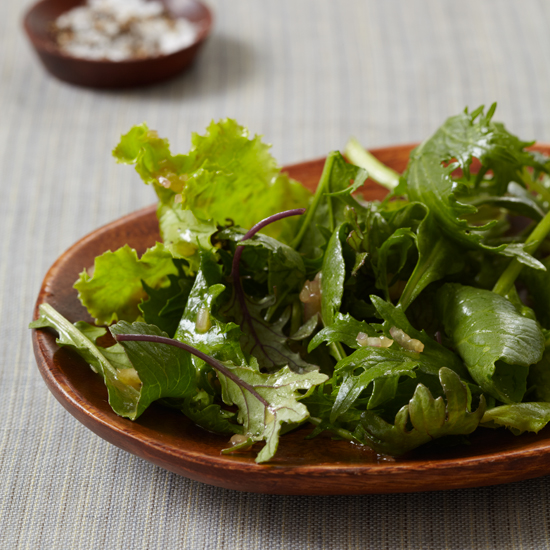 Baby Greens with Cider Vinaigrette