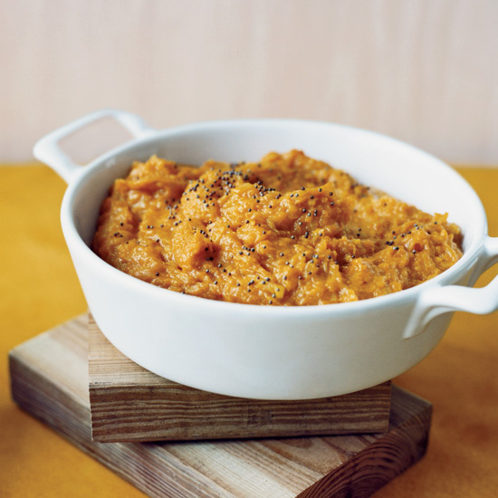 Mashed Winter Squash with Indian Spices