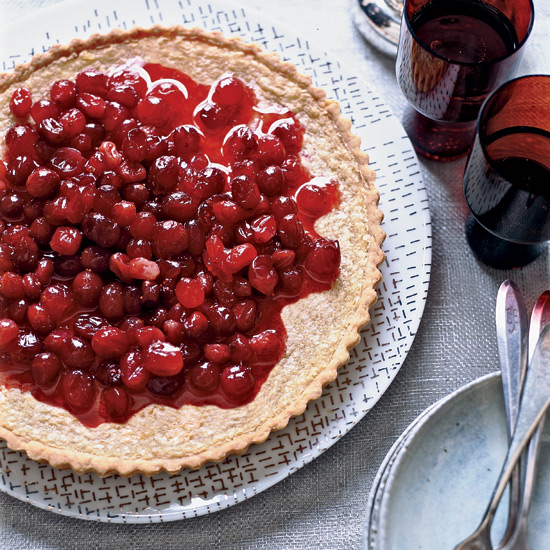 Brown Butter-Cranberry Tart