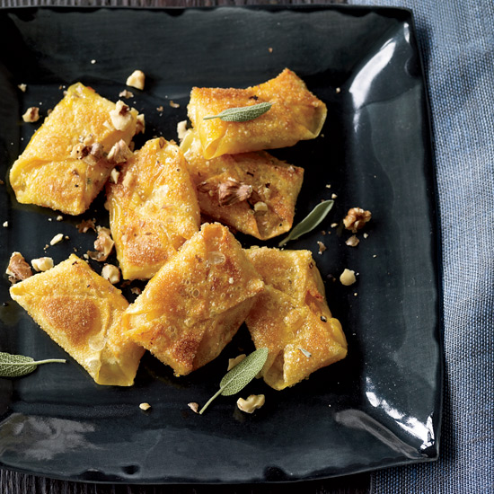 Butternut Squash-and-Sage Wontons