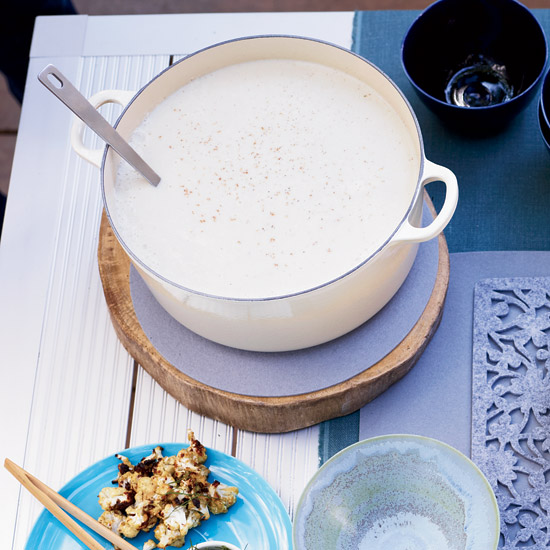 Silky Cauliflower Soup
