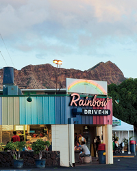 The Rainbow Drive-In