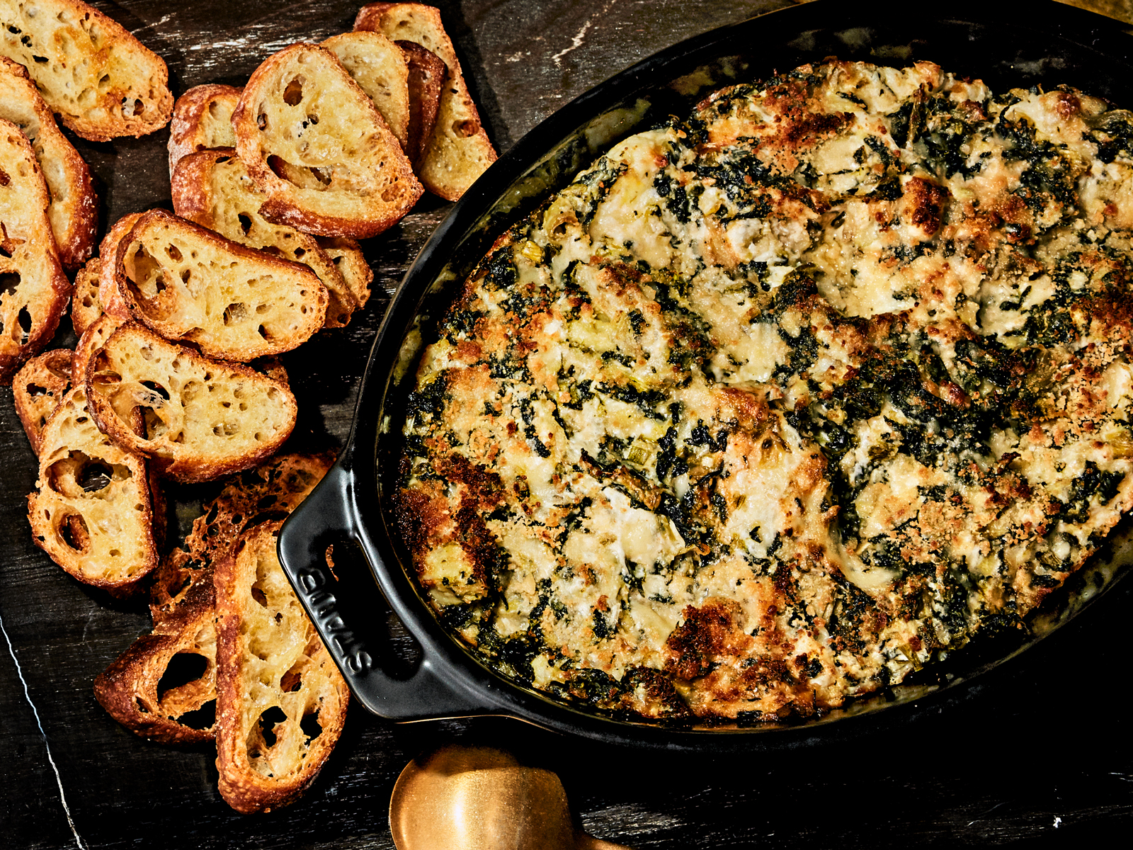 Warm Spinach-Artichoke Dip Recipe