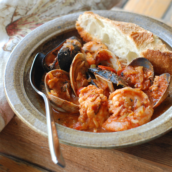 Cioppino with Mussels