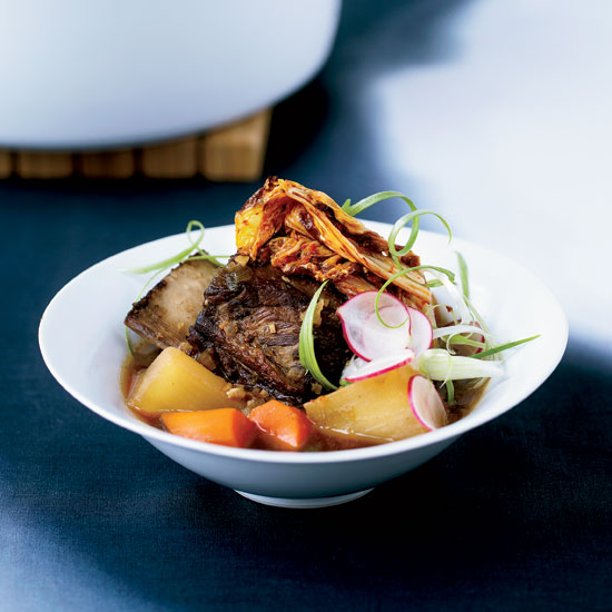 Short Rib Stew with Caramelized Kimchi