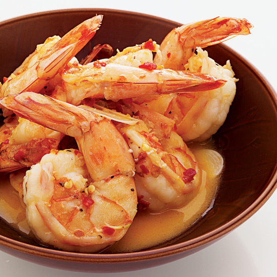 Spicy Shrimp with Garlic Butter