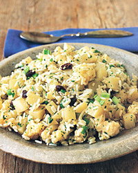 Basmati Rice Salad with Cauliflower and Potatoes
