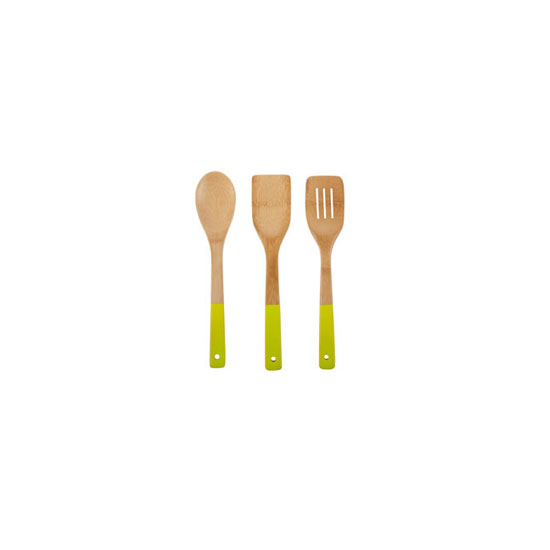 Color-Blocking: Colorful Bamboo Utensils
