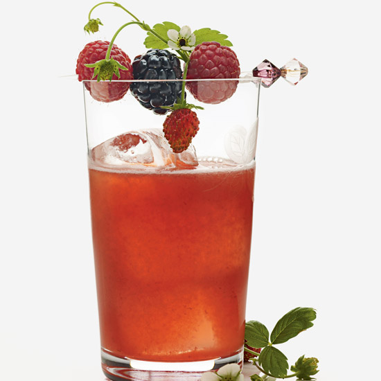 Summer Berry Fizz