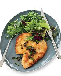 Panko-Coated Chicken Schnitzel