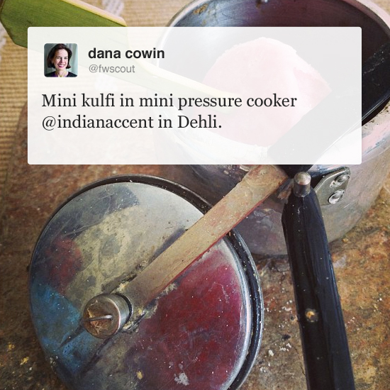 What F&W Editors Are Eating: Indian Accent, New Delhi