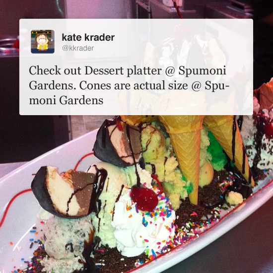 What F&W Editors Are Eating: L & B Spumoni Gardens, Brooklyn