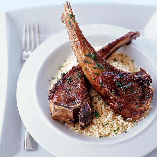 Moroccan-Spiced Lamb Chops
