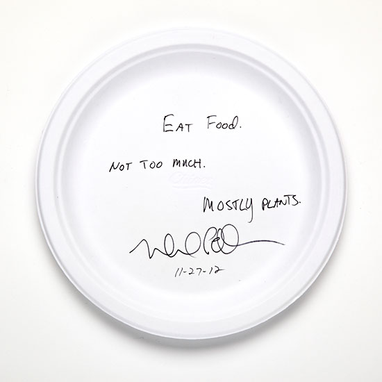 Food Rules for the Future