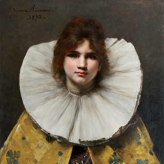 Young Girl with a Ruffled Collar