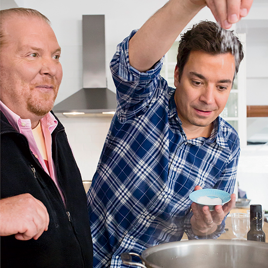 Batali Tip: Seasoning Pasta Water